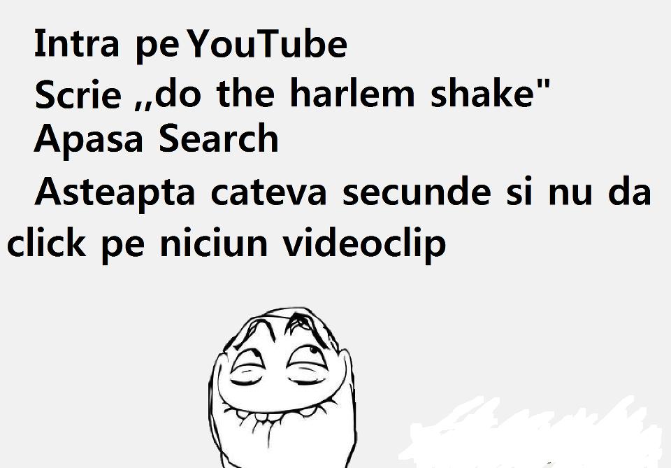 YouTube danseaza Harlem Shake