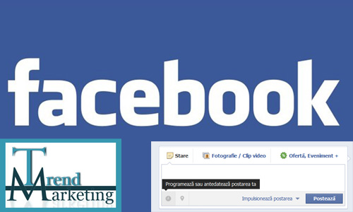 Cum programez postarile pe Facebook?